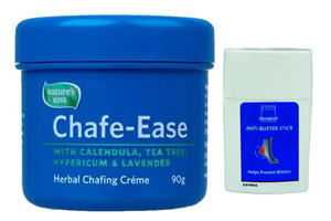 Chafe-Ease and Anti-Blister Stick