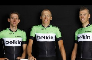 Blanco Pro Cycling rebrand as Belkin Pro Cycling