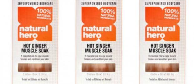 Hot Ginger Muscle Soak
